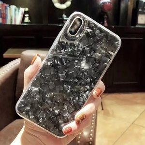 Accessories - NEW iPhone 7+/8+/7/8 Black Conch Shell Case